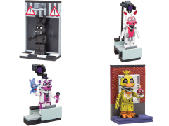 Five Nights at Freddy's Micro Construction Set Series 02 - Set of 4