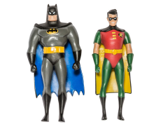 Batman: The Animated Series Batman & Robin Bendable Figure Two Pack