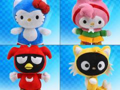 "Sonic The Hedgehog X Sanrio Tineez 6"" Plush - Set of 4"