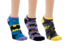 Batman Ankle Socks Three-Pack