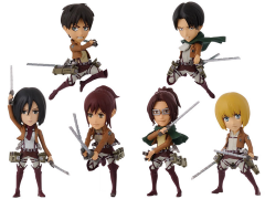 Attack on Titan World Collectable Figure Vol. 1 Bag of 8 Figures