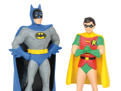 DC Comics Hot Properties Village Batman & Robin Figurine