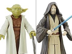 "Star Wars 3.75"" Force Link Obi-Wan Kenobi & Yoda Set"