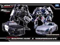 Transformers APS-03 Decepticon Barricade & Soundwave Two-Pack