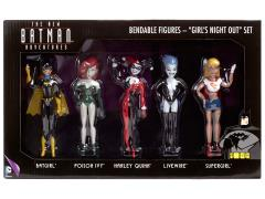 The New Batman Adventures Bendable Figure - Girl's Night Out Box Set