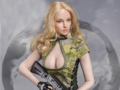 Combat Cheongsam (CP Camouflage) 1/6 Scale Accessory Set
