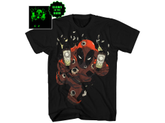 Marvel Deadpool Empty Clips (Glow in the Dark) T-Shirt