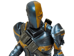 Batman Arkham Origins Deathstroke Bust Bank PX Previews Exclusive
