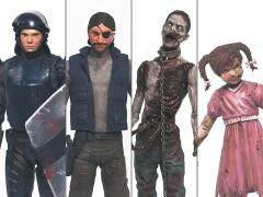 The Walking Dead Comic Series 2 Set of 4