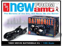 1/25 Scale 1989 Movie Batmobile Model Kit