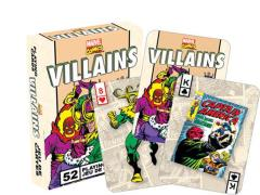 Marvel Comics Playing Cards - Villains