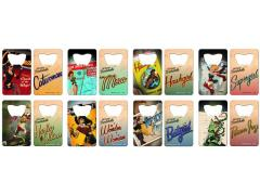 DC Bombshells Credit Card Bottle Opener - Set of 8