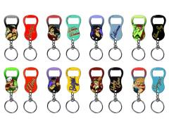 DC Bombshells Keychain Bottle Opener - Set of 8