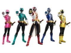 S.H. Figuarts - Samurai Metallic 5-Pack SDCC 2013 Exclusive
