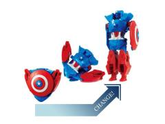 Marvel Disk Wars: The Avengers Transforming Disks - Captain America