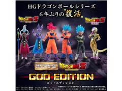 Dragon Ball Z HG Dragon Ball God Edition Exclusive Box of 6 Figures