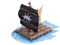 One Piece Grand Ship Collection Marshall D Teach's Ship Model Kit