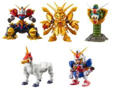 Gundam Gashapon Senshi Dash Premier 01 Exclusive Box of 5 Figures