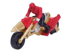 Zord Builder Collection Power Ranger Cycle With Figure - Operation Overdrive Cycle and Red Ranger