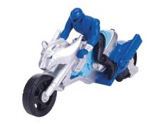 Zord Builder Collection Power Ranger Cycle With Figure - Jungle Fury Cycle and Blue Ranger