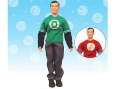 "The Big Bang Theory 8"" Figure - Sheldon With Green Lantern/Flash Shirt"