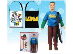 "The Big Bang Theory 8"" Figure - Sheldon With Vintage Batman T-Shirt Convention Exclusive"