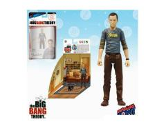 "The Big Bang Theory 3.75"" Figure Sheldon Series - Sheldon Batman Shirt"