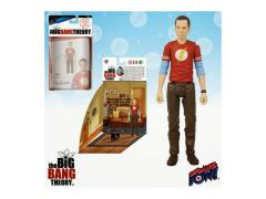 "The Big Bang Theory 3.75"" Figure Sheldon Series - Sheldon Flash Shirt"