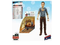 "The Big Bang Theory 3.75"" Figure Sheldon Series - Sheldon Superman Shirt"