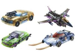Transformers Dark Energon Deluxe Set of 4 With Bonus DVD BBTS Exclusive