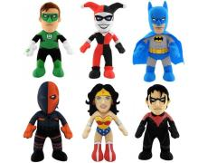 "DC Universe 10"" Plush Figure - Set of 6"