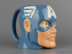 Marvel Molded 16oz. Ceramic Mug - Captain America