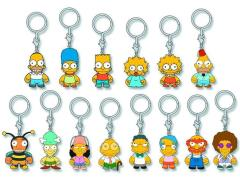 The Simpsons Random Enamel Key Chain