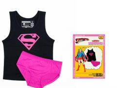 Youth DC Comics Girls Underoos Set - Supergirl