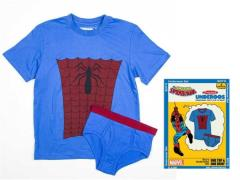 Youth Marvel Comics Boys Underoos Set - Spider-Man