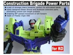 CDMW-08* Construction Brigade Power Parts Custom Forearms
