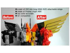 CDMW-11 The King's Power Parts Custom Wings