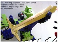 CDMW-14 The King's Power Parts Custom Giant Sonic Sword
