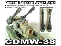 CDMW-38 Combat Brigade Power Parts Custom Cannons