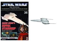 Official Starships & Vehicles Collection #036 Royal Starship & Magazine