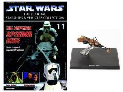 Official Starships & Vehicles Collection #011 Speeder Bike & Magazine