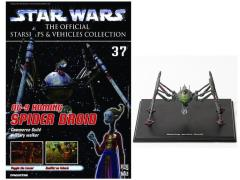 Official Starships & Vehicles Collection #037 Homing Spider Droid & Magazine