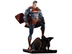 Superman Patina Mini Statue