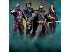 Batman Arkham City Action Figure Series 04 - Set of 4
