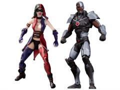 "Injustice:  Cyborg & Harley Quinn 3.75"" Two-Pack"