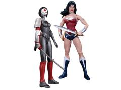 The New 52 Wonder Woman Vs. Katana Figure Pack