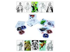 Justice League Starter Poker Set