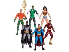 Alex Ross Justice League Action Figure Six Pack