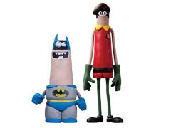 Aardman Batman & Robin Classic Two-Pack Convention Exclusive
