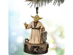 Star Wars Sketchbook Ornament - Talking Yoda